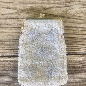 Exquisite Vintage Cigarette Case-Beads & Sequins